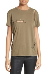 The Kooples Women's Safety Pin Tee