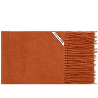 Acne Studios Canada Skinny Scarf Orange
