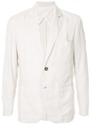 Venroy Unlined Blazer White