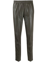 Cambio Faux Leather Trousers 60