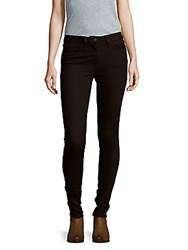 Sandro Proche Solid Five Pocket Jeans Black