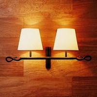 Bover Ferrara 2 Luces Wall Sconce