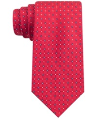 Club Room Patriot Neat Tie Red