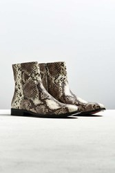 Urban Outfitters Uo Western Snake Chelsea Boot Assorted