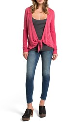 Women's Lamade Convertible Cardigan Rosso