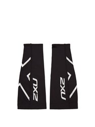 2Xu Compression Calf Guards Black Multi