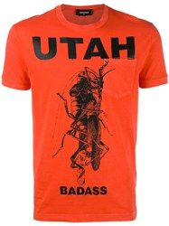 Dsquared2 Utah Mantis Pocket T Shirt