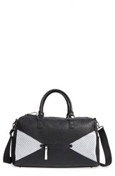 Poverty Flats By Rian Sport Duffel Bag Black Black White