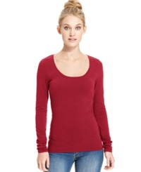 Energie Juniors' Scoop Neck Top Jester Red