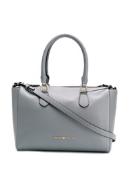 Emporio Armani Classic Shopping Bag Blue
