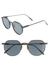 Vedi Vero 54Mm Polarized Titanium Sunglasses Black Smoke Polarized Black Smoke Polarized