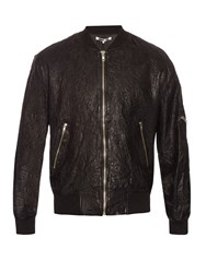 Mcq By Alexander Mcqueen Creased Effect Leather Jacket