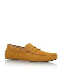 Tod's Penny Driving Shoes Male Mustard