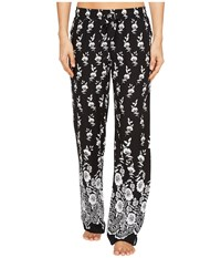 Pj Salvage Boho Babe Lounge Pants Black Women's Casual Pants