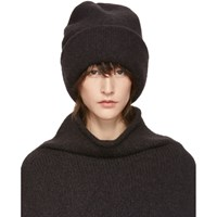 af92015dd7d Lauren Manoogian Black Alpaca Carpenter Beanie