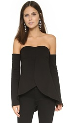 N Nicholas Swing Bustier Top Black