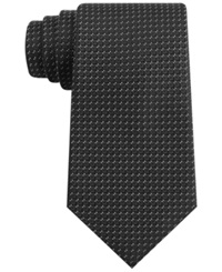 Club Room Patriot Neat Tie Black