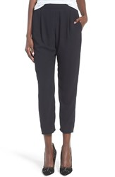 Leith Women's Tapered Crepe Trousers