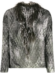Avant Toi Textured Fitted Sweater 60