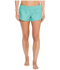 Hurley Supersuede Solid Beachrider Bottoms Washed Teal Women's Swimwear Blue