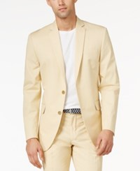 Bar Iii Sand Slim Fit Jacket Only At Macy's Beige Khak