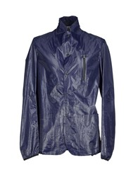 Mauro Grifoni Coats And Jackets Jackets Men Dark Blue
