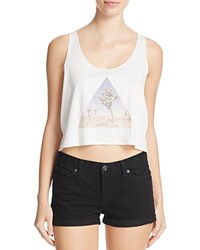 Michelle By Comune Triangle Desert Crop Tank Off White