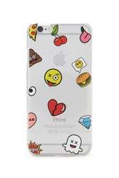 Forever 21 Emoji Case For Iphone 6 6S Yellow Multi