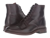 Frye Jones Lace Up Chocolate Vintage Veg Tan Men's Boots Brown