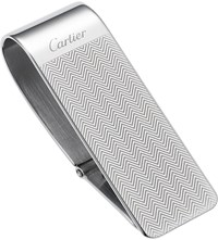 Cartier Chevron Engraved Money Clip
