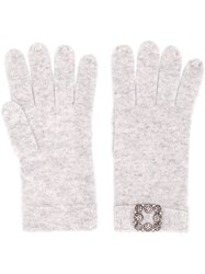 Max And Moi Classic Gloves Grey