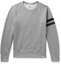 Kingsman Todd Snyder Champion Harry's Fleece Back Cotton Blend Jersey Sweatshirt Gray