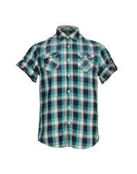 Maison Scotch Shirts Shirts Men Turquoise