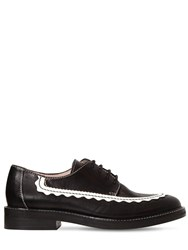 Alexachung 20Mm Ac 30 Leather Derby Shoes Black Off White
