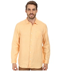 Tommy Bahama Sea Glass Breezer Long Sleeve Shirt Detour Men's Long Sleeve Button Up Yellow