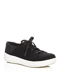 Fitflop Sporty Lace Up Sneakers Black