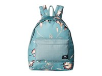 Roxy Be Young Mix Backpack Trellis Bird Flower Backpack Bags Green