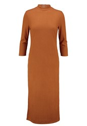 Vila Vijersey Jersey Dress Roasted Pecan Brown