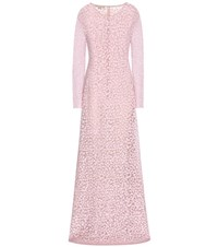 Michael Kors Sequinned Tulle Gown Pink