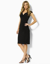 Lauren Ralph Lauren Matte Jersey Empire Dress Black