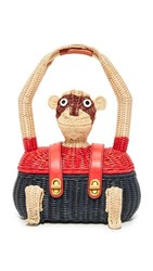 Tory Burch Monkey Tote Natural