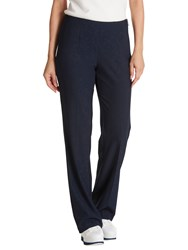Betty Barclay Skinny Crepe Trousers Dark Sky
