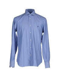 Brooksfield Shirts Shirts Men Pastel Blue