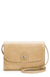 Frye Melissa Leather Crossbody Bag Brown Sand