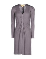 Azzaro Short Dresses Grey