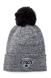 American Needle Los Angeles Kings Insulation Knit Pompom Beanie Black