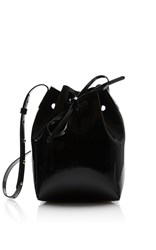 Mansur Gavriel Mini Mini Bucket Bag Black
