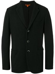 Barena Three Button Blazer Black