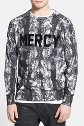 Eleven Paris 'Mercy' Print Sweatshirt Black