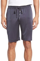 Daniel Buchler Men's Luxe Silk Lounge Shorts